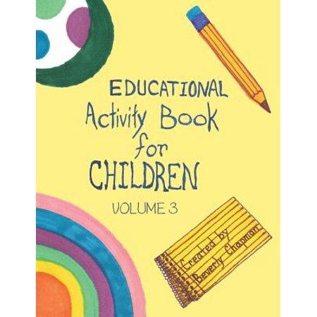 Educational Activity Book for Children Volume 3