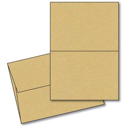 Curious metallic gold leaf 5x7 blank greeting card sets25 cards curious metallic gold leaf 5x7 blank greeting card sets25 cards envelopes m4hsunfo