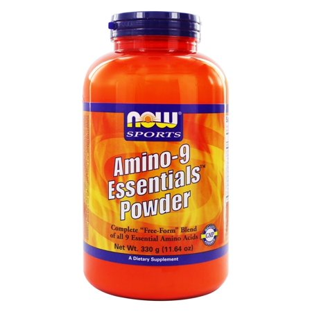 NOW Foods - Amino-9 Essentials Powder - 11.64 oz. (Foods That Contain All 9 Essential Amino Acids)