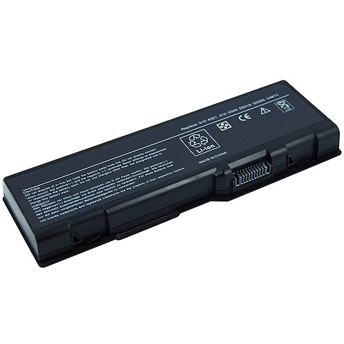 Laptop Battery Pros Extended Life Replacement Battery for Dell 6000, Black