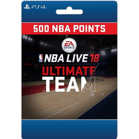 Sony NBA LIVE 18: NBA UT 500 Points Pack (email delivery)