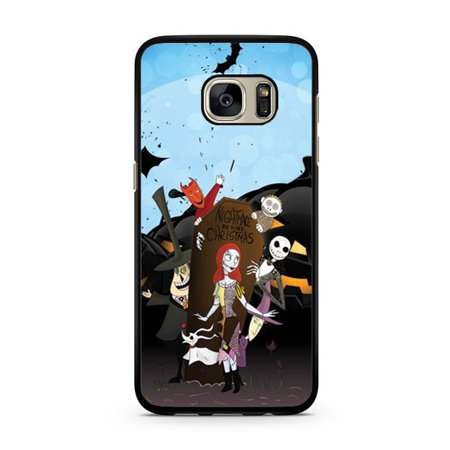 Nightmare Before Christmas Galaxy S7 Edge Case