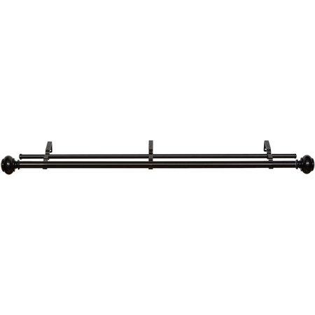 Achim Buono II Decorative Double Rod & Finial Brenner
