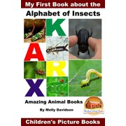 My First Book about the Alphabet of Insects: Amazing Animal Books - Children's Picture Books - eBook
