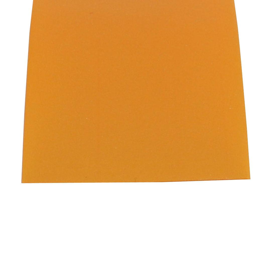 Unique Bargains 10pcs 29.5mm Flat Width 72mm Long Heat Shrinkable Tube Gold Tone f 18650 Battery - image 1 of 2
