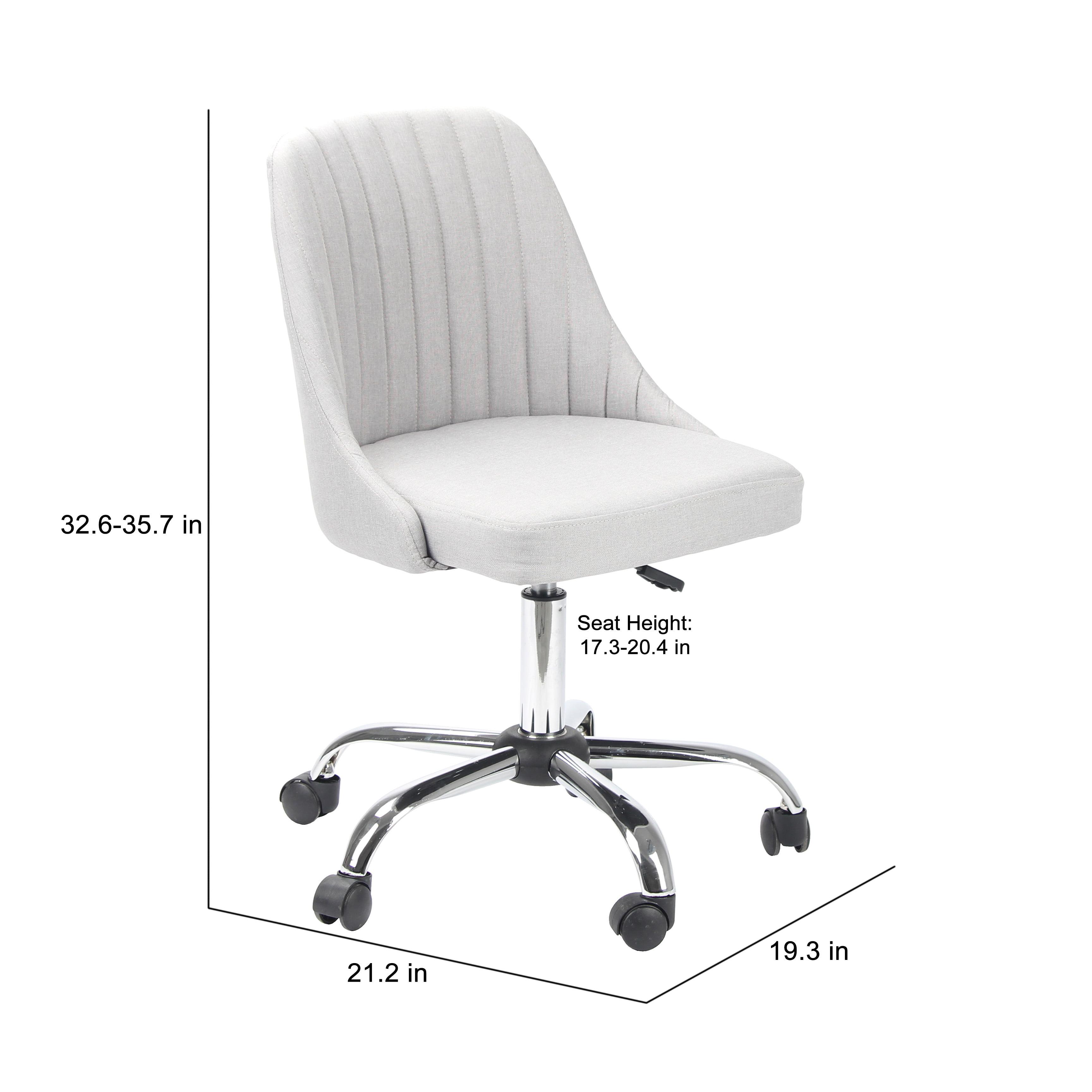Porthos Home Office Chair Designer Office Chairs With Wheels Stylish Fabric Upholstery Premium Quality Comfort Ergonomic Lumbar Support Height Adjustable 360 Degree Swivel Walmart Com Walmart Com