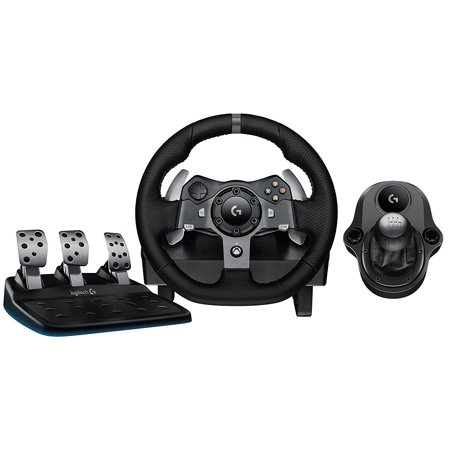 Logitech G920 Driving Force Racing Wheel Dual Motor Force Feedback with Shifter for PC and Xbox Logitech Driving Force Gt Wheel