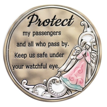 Protect My Passengers and All Who Pass By Angel Visor Clip - By Ganz ()
