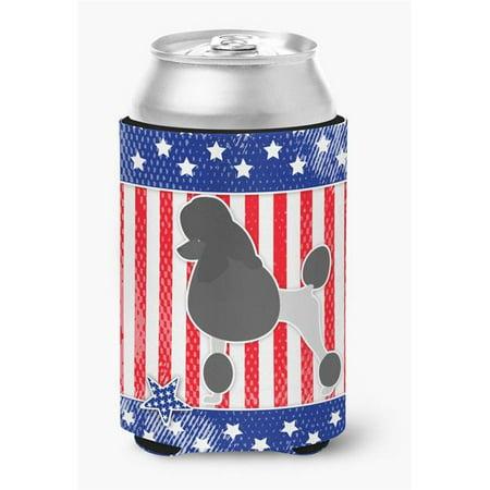 USA Patriotic Poodle Can or Bottle Hugger - image 1 de 1