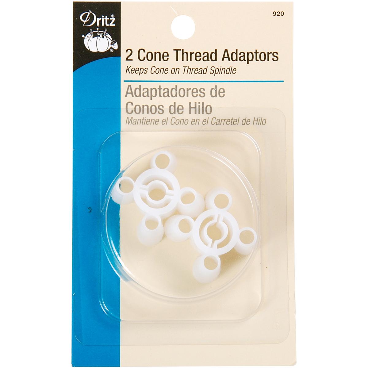 Dritz Cone Thread Adapter 2/Pkg-