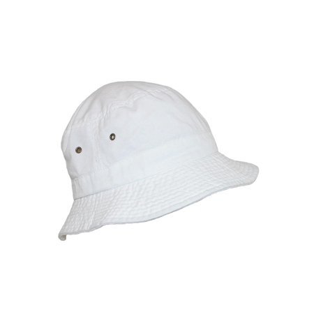 Cotton Summer Sun Packable Bucket Hat