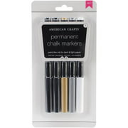 Diy Shop Chalk Permanent Markers 5/Pkg-