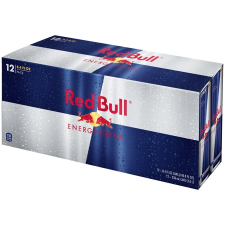 Red Bull  Energy Drink 12 8 4 Fl  Oz  Cans