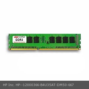 DMS Compatible/Replacement for HP Inc. B4U35AT Elite 8300 (Convertible mini tower) 2GB DMS Certified Memory DDR3-1600 (PC3-12800) 256x64 CL11  1.5v 240 Pin DIMM - DMS