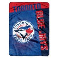 "MLB Toronto Blue Jays ""Strike"" 60"" x 80"" Raschel Throw"