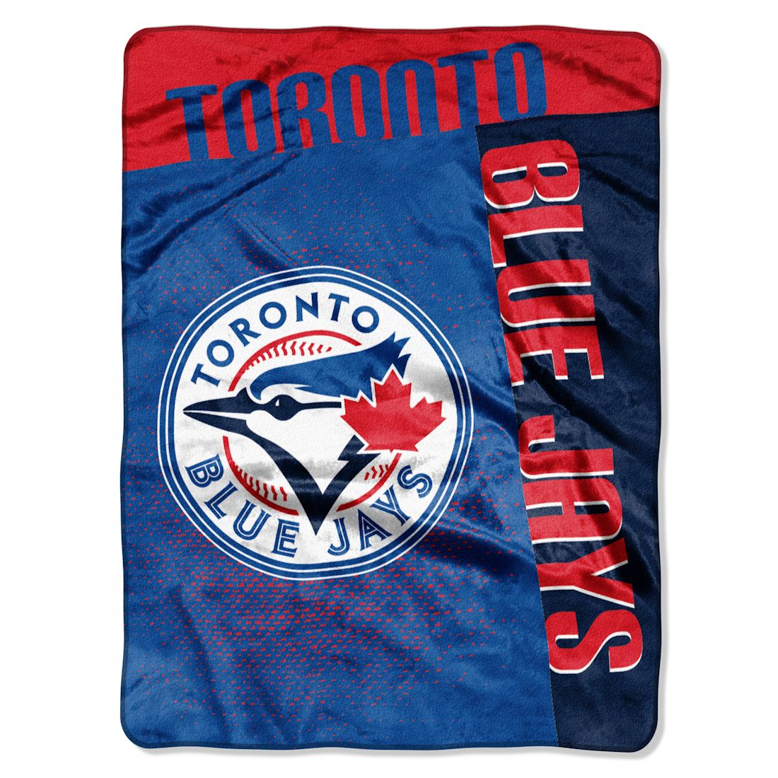 "MLB Toronto Blue Jays ""Strike"" 60"" x 80"" Raschel Throw"