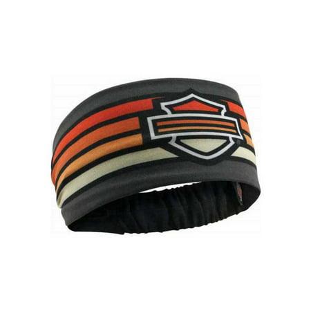 Harley-Davidson Women s Summer Asphalt Headband Scrunchie 0cab219e4e4