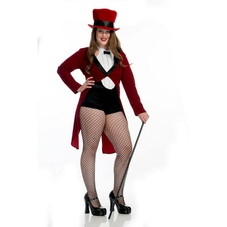 Halloween Circus Sweetie Plus Adult Costume