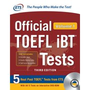 Official TOEFL IBT Tests Volume 1, Third Edition (Other)