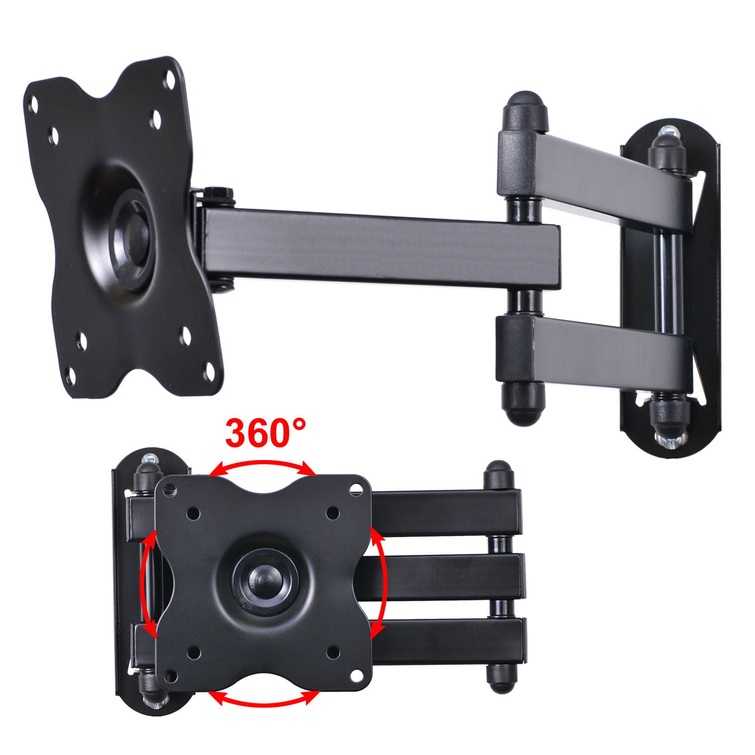 Swing Arm Wall Mount for LG 15-24 Inch Models LCD Flat Panel Screen TV/&Monitor