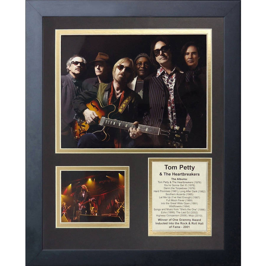"""Legends Never Die """"Tom Petty and The Heartbreakers"""" Framed Photo Collage, 11"""" x 14"""""""