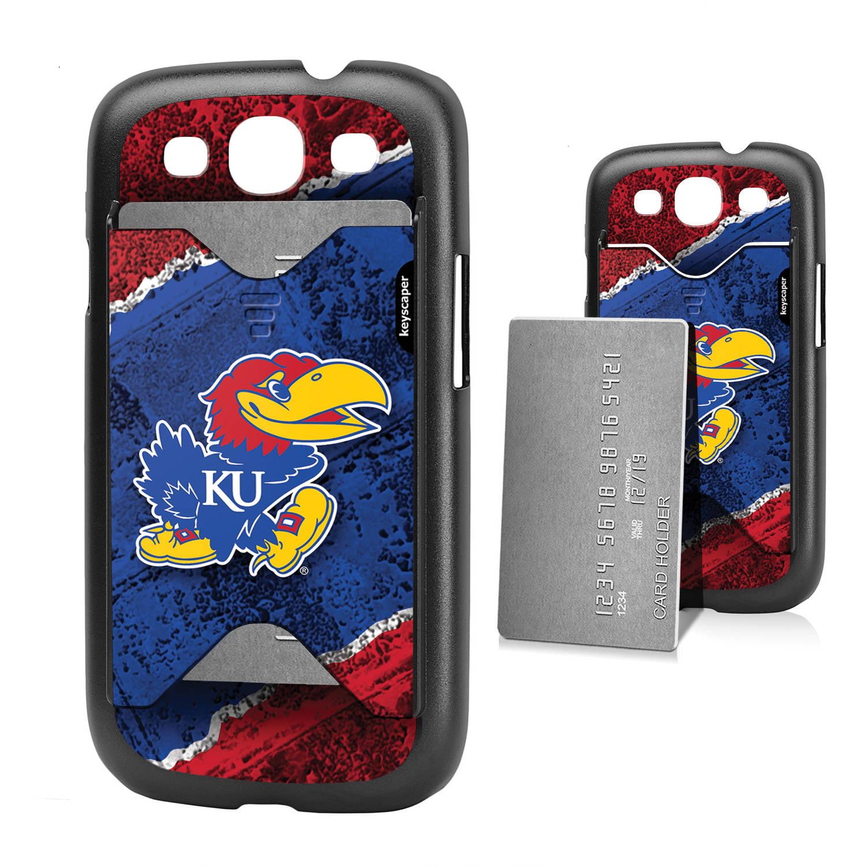 Kansas Jayhawks Galaxy S3 Credit Card Case