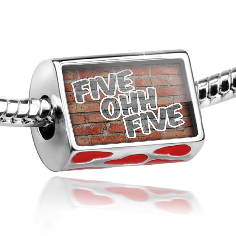 Bead 505 Albuquerque, NM brick Charm Fits All European Bracelets