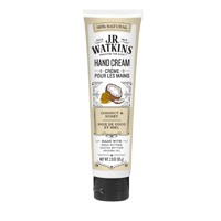 J.R. Watkins Coconut Milk & Honey Hand Cream, 3.3 Oz Tube