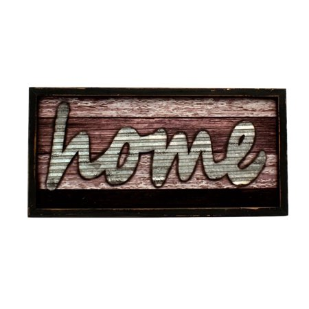 Western Moments Wall Sign Distressed Wood Home Tin Metal Gray