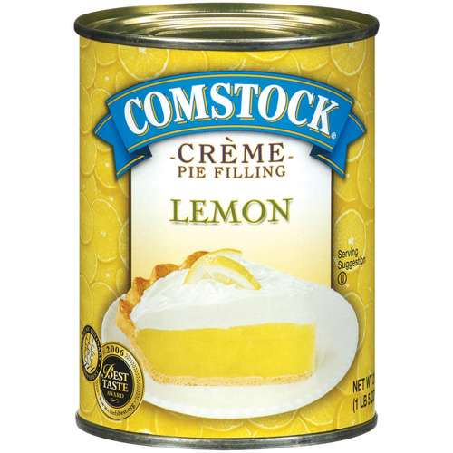 Duncan Hines�� Comstock�� Original Lemon Creme Pie Filling & Topping 21 oz. Can