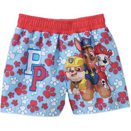 Paw Patrol Newborn Baby Boy Swim Trunks