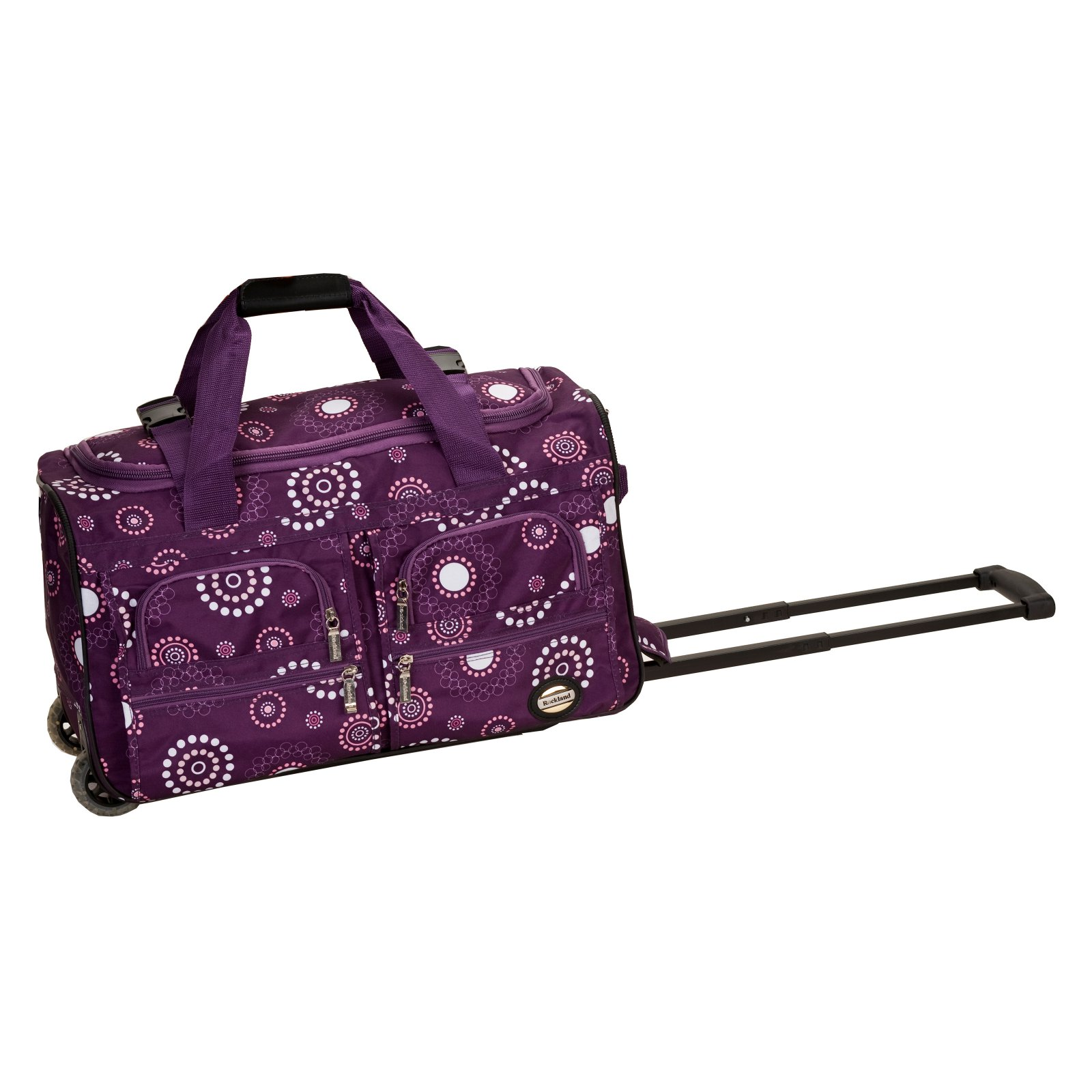 "Rockland Luggage 22"" Rolling Duffle Bag by Fox Luggage Inc"