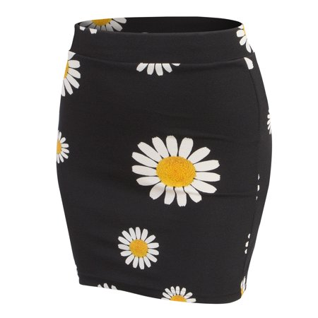e416dfdfbf0be Doublju - Doublju Women s Elastic Waist Stretch Bodycon Pencil Mini Skirt  BLACKDAISY 3XL Plus Size - Walmart.com