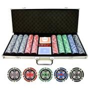 11.5g 500pc Casino Ace Poker Chips Set by