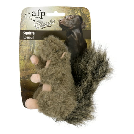 All For Paws Classic Dog Toy, Squirrel, 1.0 CT