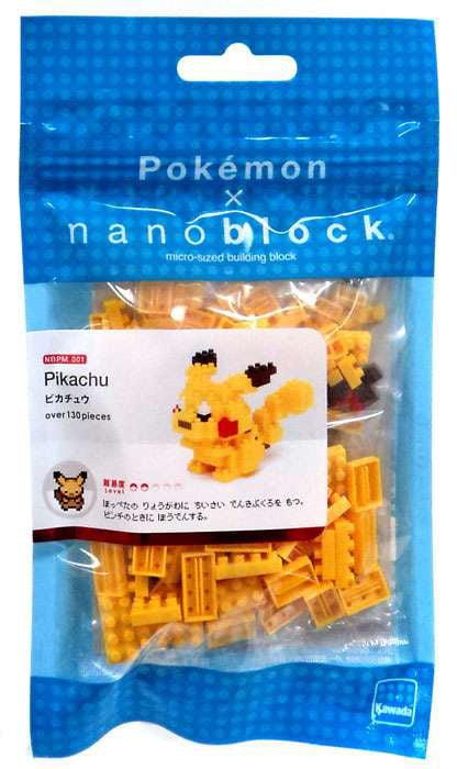 Nanoblock Pokemon Pikachu Set NBPM-001 by