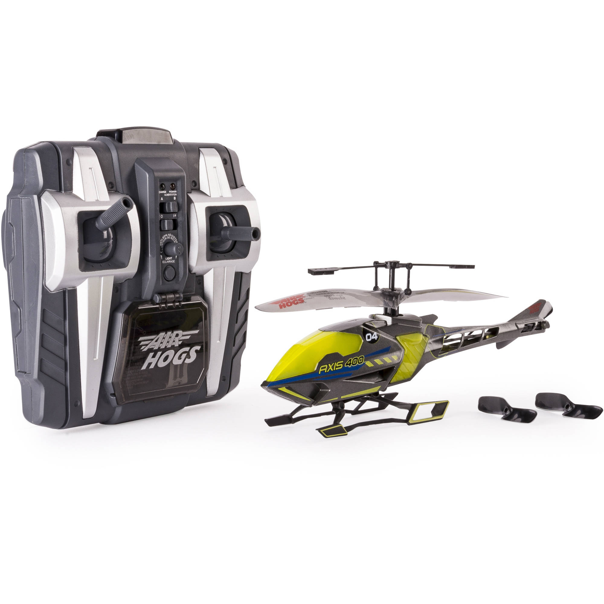 Air Hogs Axis 400x RC Helicopter, Yellow by Spin Master Ltd