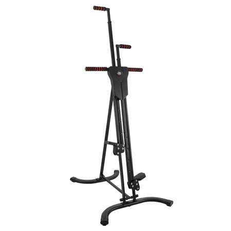 BestEquip Vertical Climber 440LBS Stepper Climbing Machine Exercise Equipment Climber for Home Gym Exercise Climber Machine Stepper Cardio Climbing System Fitness Workout