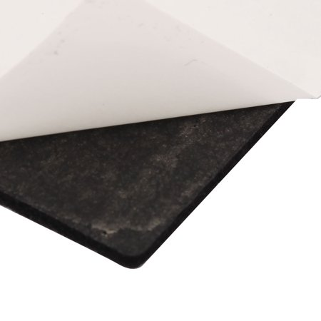 Table Chair Square Self Adhesive Furniture Felt Pads Cover Black 30 x 30mm 12pcs - image 1 of 2