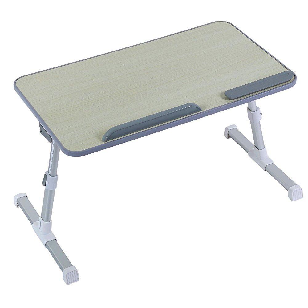 ... Portable Sturdy Lap Desk   Adjustable Tv Tray, Serving Breakfast In Bed    20.5