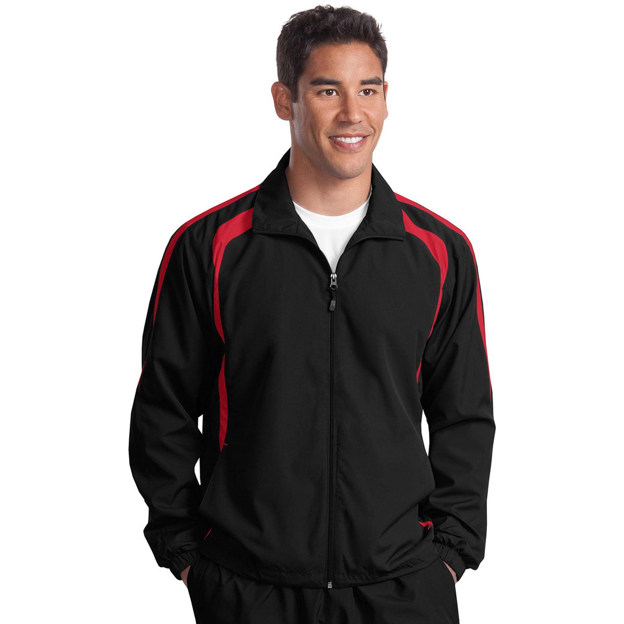 Sport-Tek Men's Lightweight Colorblock Raglan Jacket
