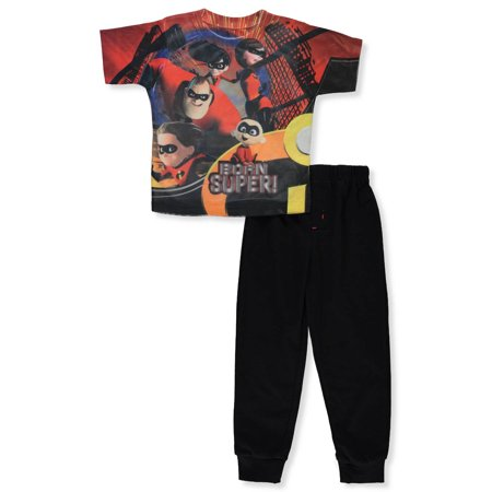 The Incredibles Boys' 2-Piece Pants Set - The Undertaker Outfit