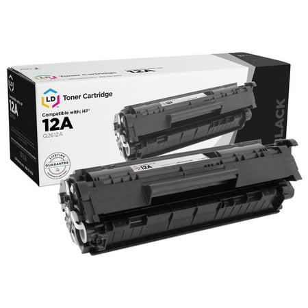12a Laserjet (LD Compatible Toner Cartridge Replacement for HP 12A HP Q2612A (Black Toner Cartridge))