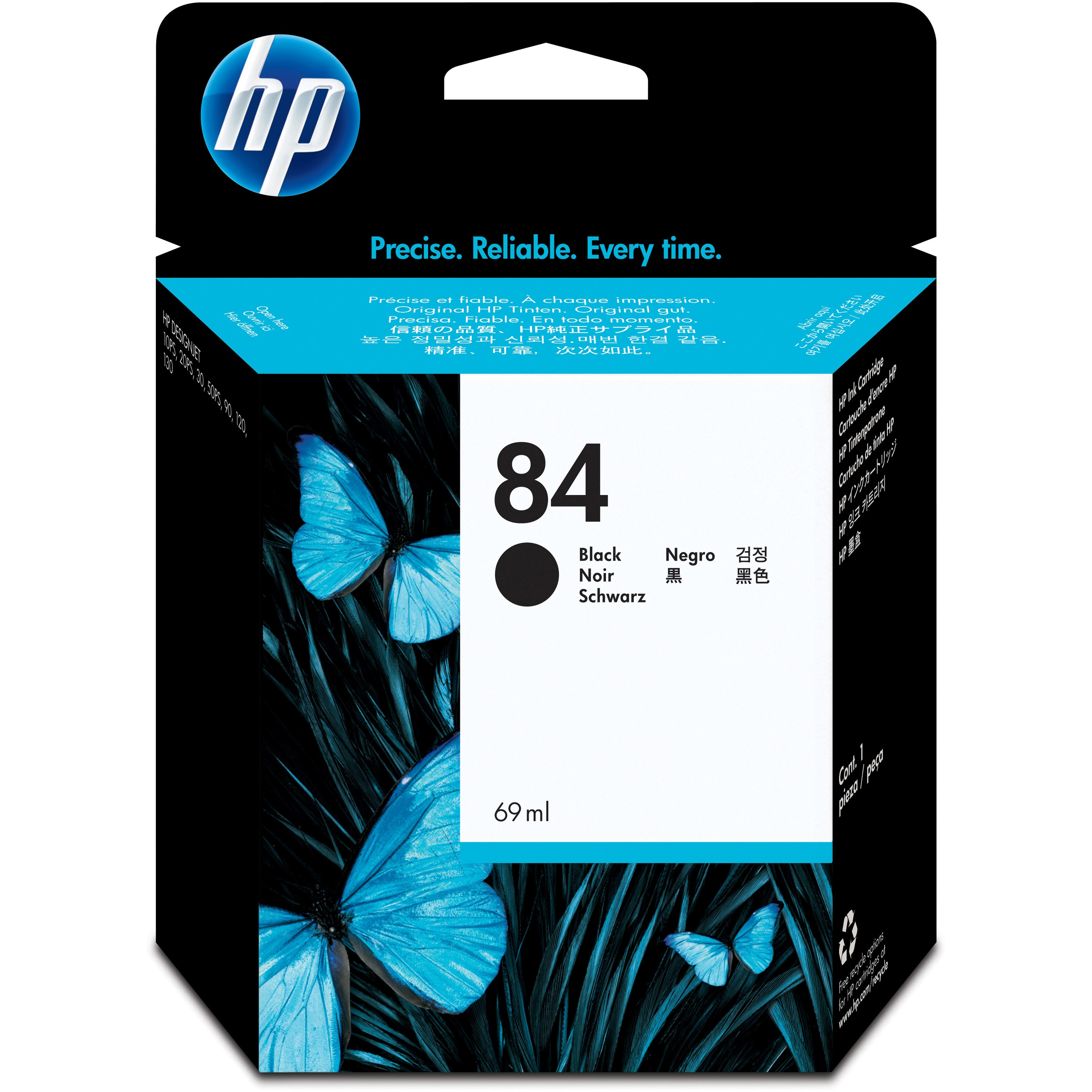 HP, HEWC5016A, 84 Ink Cartridges, 1 Each