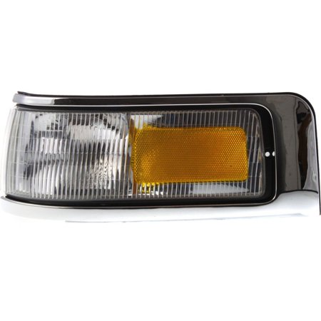 NEW CORNER LAMP LENS & HOUSING LEFT FITS 1995-1997 LINCOLN TOWN CAR F5VY15A201B (Lincoln Town Car Corner Light)