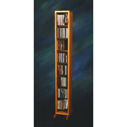 Wood Shed 800 Series 112 CD Dowel Multimedia Storage Rack