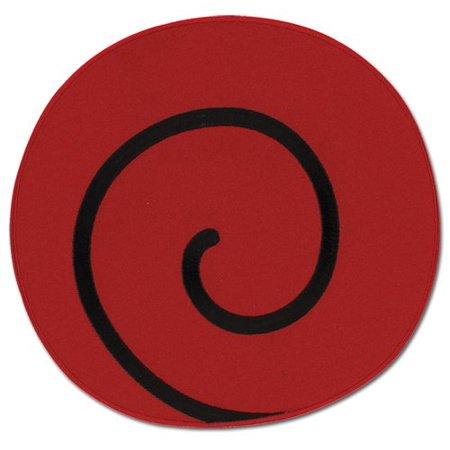 Patch Large Naruto New Uzushio Clan Symbol Iron On Gifts Anime