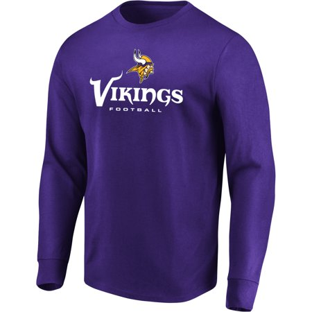 - Men's Majestic Purple Minnesota Vikings Our Team Long Sleeve T-Shirt