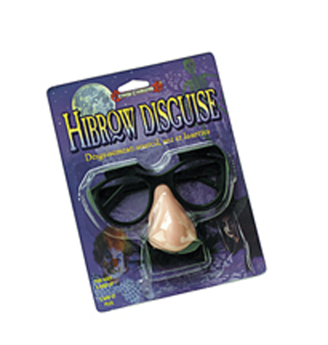 Hibrow Costume Disguise
