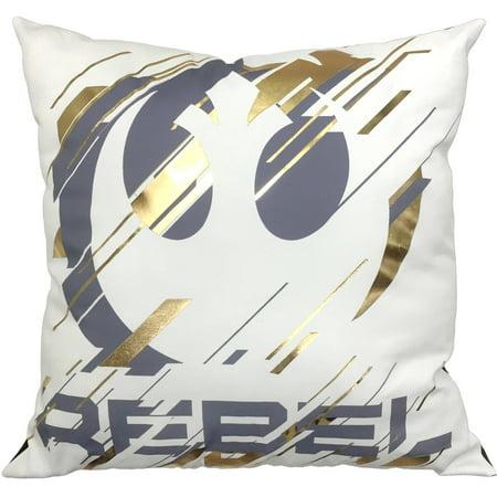 Star Wars Rogue One Rebel Decorative Pillow - Walmart.com
